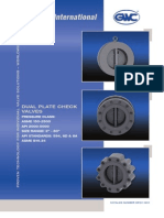 GWC Valve International - dual plate check valves