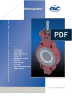 GWC Valve International - Triple Offset Butterfly valves