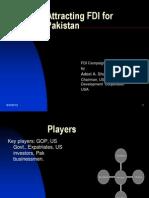 Attracting FDI for Pakistan
