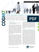 Dissecting Sales Analytics in Insurance