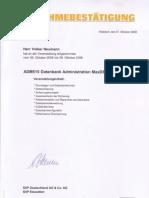 SAP Database MAXDB, SAP-ADM515