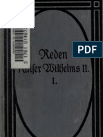 Reden Kaiser Wilhelms II. (Bd 1)