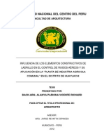 Segundo Informe Alanya Pariona Avance
