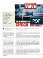 Check Valve Back to Basics Article