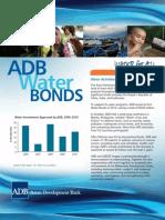 ADB Water Bonds Brochure 2011