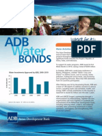 ADB Water Bonds Brochure 2011