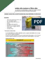 Guida Sostituzione Olio Motore