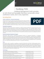 iVIEW+Suite+vs.+Tandberg+TMS