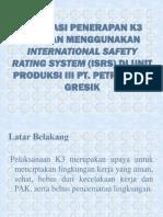 Evaluasi Penerapan K3 Dgn Metode ISRS