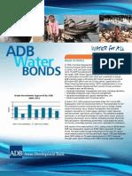 ADB Water Bonds Brochure 2013