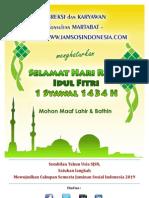 e Card Idul Fitri 1434 H - Jamsosindonesia 2013