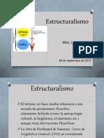 Estructuralismo 26 Sep 2012
