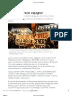 Adieu au miracle espagnol par Javier Cercas - Le Monde du 19/07/2013