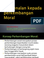 Pengenalan Perkembangan Moral