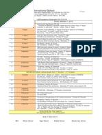 ISS Academic Calendar 2013-2014