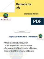 4The Literature Review