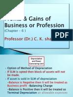 PROFITS&GAINS FROM B/P