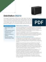 Synology DS213 Data Sheet Esn