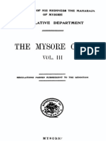 mysore civil code