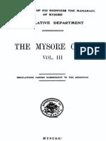 mysore civil code