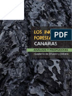 Informe Los incendios forestales en Canarias