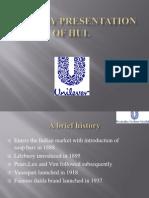Company Presentation of Hul