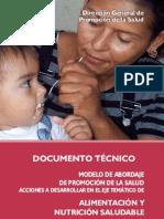 1 Eje Tematico Doc Promocion de Salud Alimentacion y Nutricion
