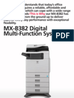 Midshire Business Systems - Sharp MX-B382 - Multifunction Mono Printer Brochure