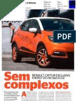 "RENAULT CAPTUR 1.5 dCi 90 NA ""CARROS & MOTORES"""