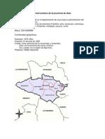 Evaluación del potencial turístico de la provincia de Anta