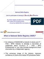 National Skills Registry