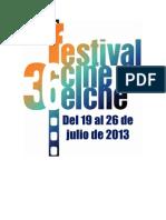 36 Festival Internacional de Cine Independiente de Elche. Palmarés