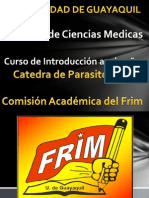 Clase de Introduccion a La Prasitologia