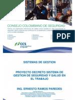 Proyecto Decreto Sg-sst 2013_ernesto_ramos
