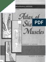 Atlas of Skeletal Muscles Stone