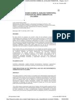 administración del medio ambiente en colombia