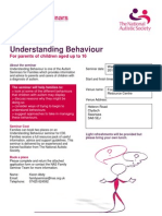 Understanding Behaviour Family Seminar at Swansea Nov 2013