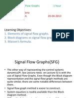 Signal flow diagrams