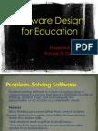 Software Design for Education