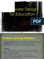 Software Design for Education