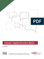 CC Complaint Manual 0111