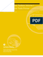 Traffic Analysis Toolbox Volume 1