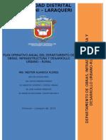 Plan Operativo Anual Doidur 2013