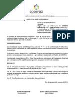 RESOLUCAO CODEFOZ 01 (2013.07.31)
