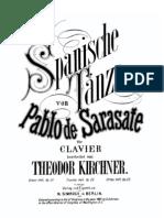 Kirchner Sarasate Op.21 Op.23 Spanische Tanzes