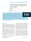 Time Interval Following Bonding Bond Failures Indirect Direct