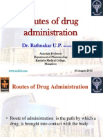 Routes of Drug Administration-1
