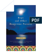 Hope and Other Dangerous Pursuits -- Discussion Guide