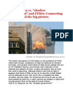 """The PNAC, 9-11, """"Shadow Government"""" and FEMA - Connecting the Dots and the Big Picture"""