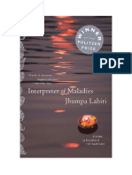 Interpreter of Maladies -- Discussion Guide